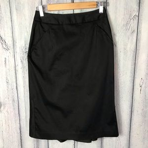 Body by Victoria Skirt with Pleated Back kick out